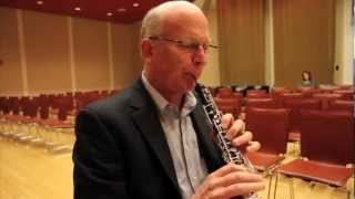 Oboist Richard Woodhams quest for the perfect reed