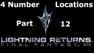FFXIII Lightning Returns - Find The Code - 4 Numbers Locations Walkthrough