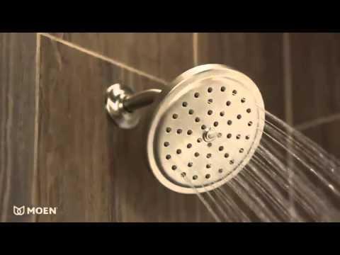 Moen 10 Inch Rain Shower Head. Moen S176 Solace One Function 7 Inch Diameter Rain Shower Showerhead  YouTube