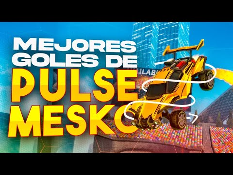 REACCIONANDO A LOS GOLES IMPOSIBLES DE PULSE MESKO 🚀 ROCKET LEAGUE FREESTYLE