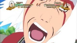 (XBOX 360) Jiraiya vs Edo Nagato Naruto Ultimate Ninja Storm 3