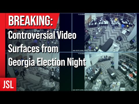 BREAKING: Controversial Video Surfaces from Georgia Election Night