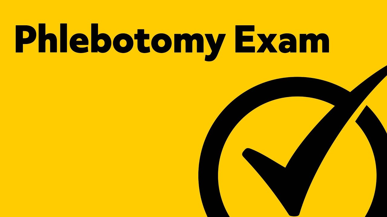 Phlebotomy Exam Review Order Of Draw Youtube