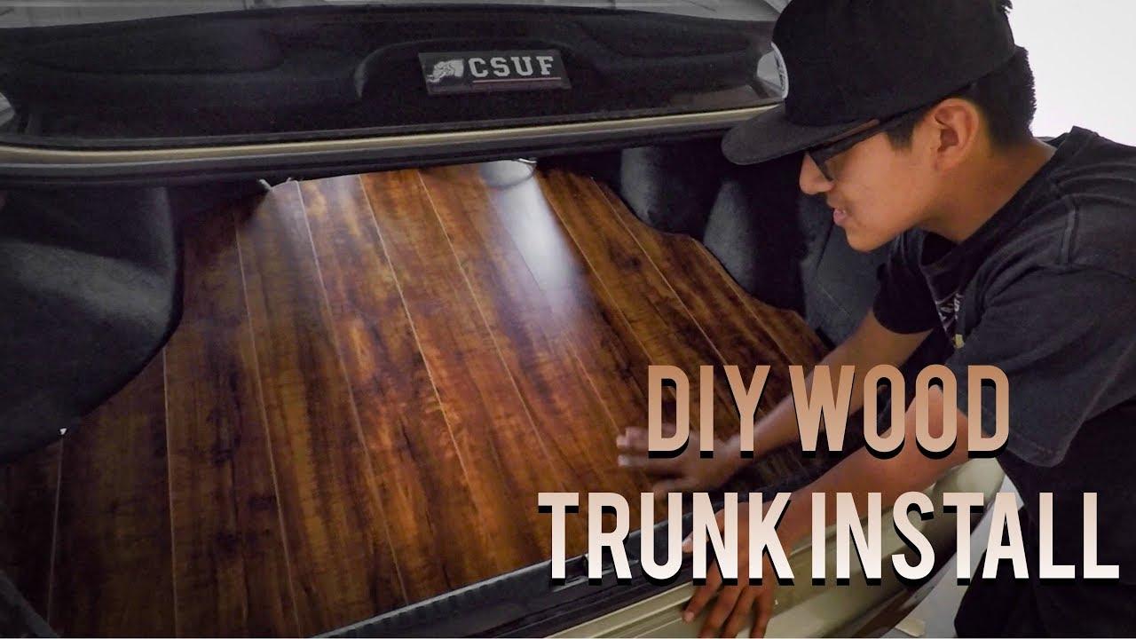 Wood Trunk Floor Honda Accord