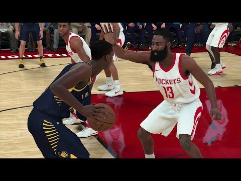 NBA Today 11/29/2017 - Houston Rockets vs Indiana Pacers ft. James Harden - NBA Game Sim (NBA 2K18)