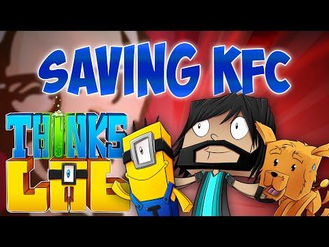 SAVING KFC!! | Think's Lab Minecraft Mods [Minecraft Roleplay]