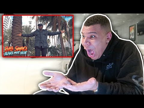 REACTING TO BIG SHAQ - MANS NOT HOT (MUSIC VIDEO)