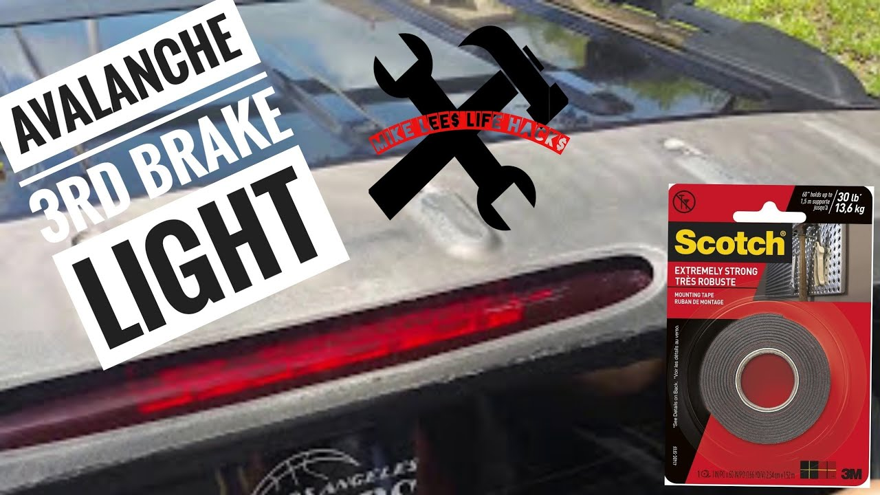 04 Chevy Avalanche 3rd Brake Light Replacement Mike Lee
