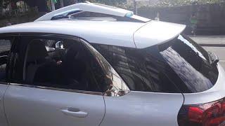 Prueba de conducción del vehículo autónomo