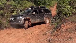 VW Amaroks Taking on the WET! CREB Track Sept 2015