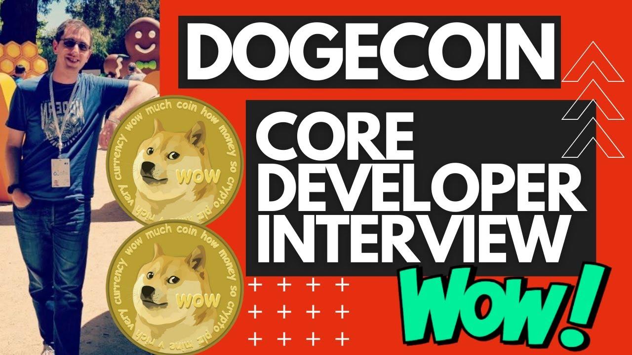 🚀DOGECOIN CORE DEVELOPER INTERVIEW 📒 ⚠️ DOGE LIVE| 📒 🚀 ...