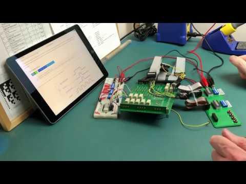 Relay Computer: Controller Upper Card