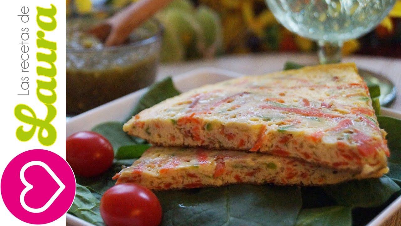 Como preparar huevo con verduras  Comida Saludable  YouTube