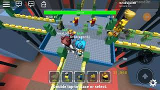 Corners of pain! (Roblox tower defense simulator with the fam)