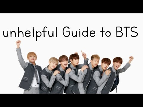 unhelpful guide to BTS