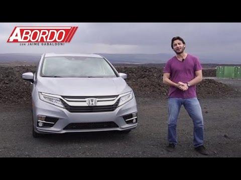 Honda Odyssey 2018 - Prueba A Bordo Completa