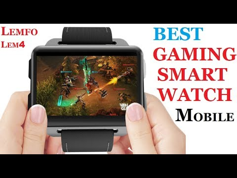 LEMFO LEM4 GAME ANDROID IOS SMART WATCH