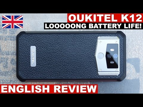 Oukitel K12 Review: Battery Juice For A WEEK! (English)
