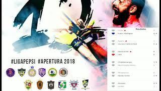 🆕️📻#FutboldeElSalvador. primera División Apertura 2018 Fecha 5 -Todos los Resultados.
