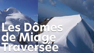 Les Dômes de Miage Voie Normale Saint-Gervais Mont Blanc alpinisme montagne