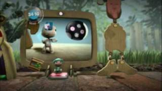 Little Big Planet (PS3) Gameplay Part 2 (The Gardens - First Steps)