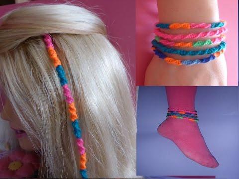 DIY Haarsträhne SCHNELL und EINFACH knüpfen, Haardesign,  Hair EXTENSIONS, Hairwrap, Wraps Tutorial
