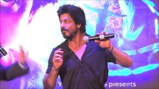 SRK says his famous dialogue at fan's trailer launch