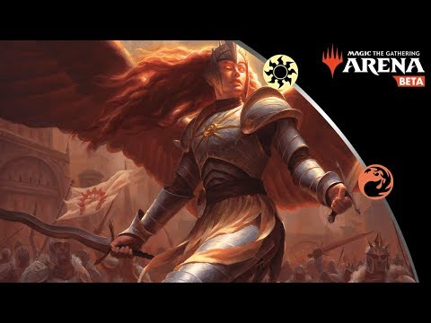 Red/White Boros Angels in Bo3 - MTG Arena Gameplay and Deck Guide
