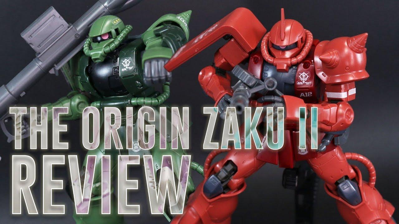 HG Mobile Suit Gundam THE ORIGIN Char Exclusive Zaku II Red Comet Ver 1//144Scale