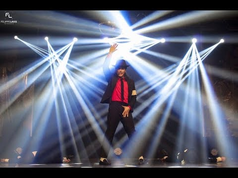 DANGEROUS - Ricardo Walker in tribute to Michael Jackson