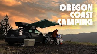 Dispersed camping on tнe Oregon coast | Thor's Well, Tide Pools, & a GREAT campsite | Ep. 019