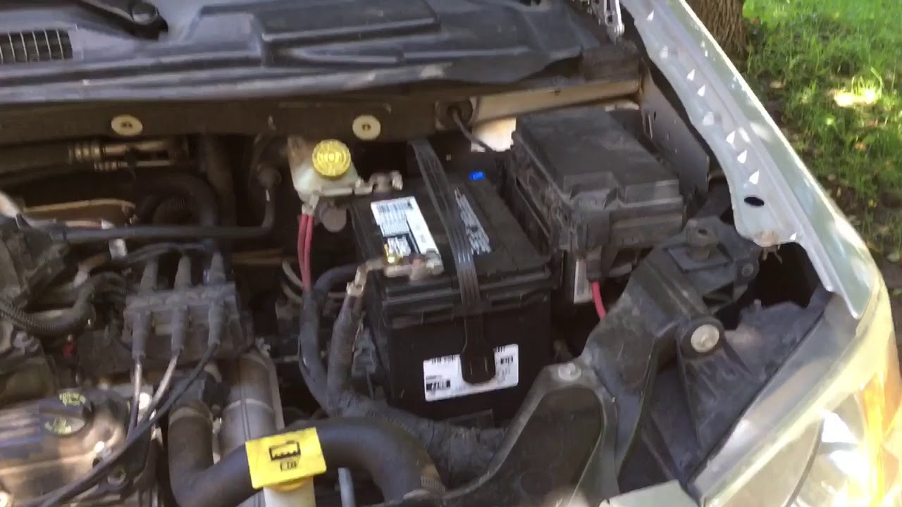Service manual [How To Change Starter On A 2010 Dodge ...