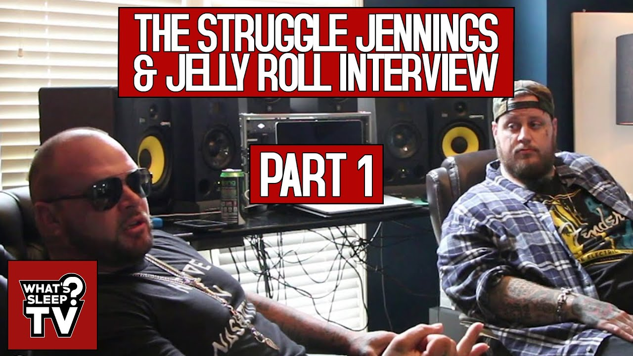 Jelly Roll & Struggle Jennings Talk Being From Antioch & How It's Easier To Push Music Today