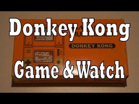 Donkey Kong Game & Watch Unboxing & Review (Nintendo)