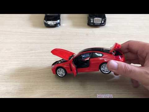 Mô hình xe BMW M6 Coupe bằng hợp kim tỉ lệ 1:32 - (MX188)