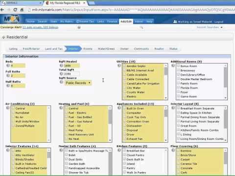 Matrix Adding New Listings