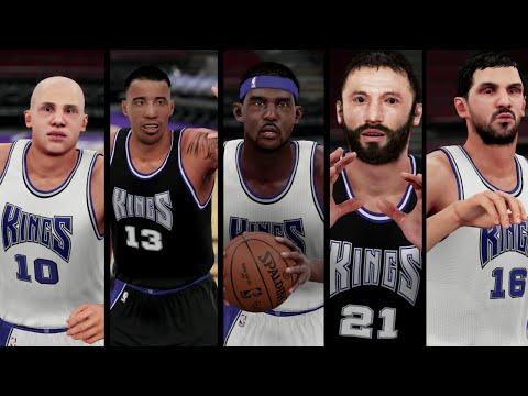 How to Get the 2001-2002 Sacramento Kings in NBA 2K16 **Xbox One Only**