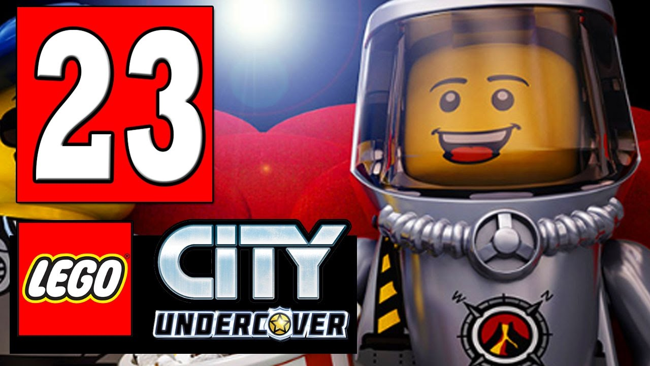 Lego City Undercover Walkthrough Part 23 Steal The Crane