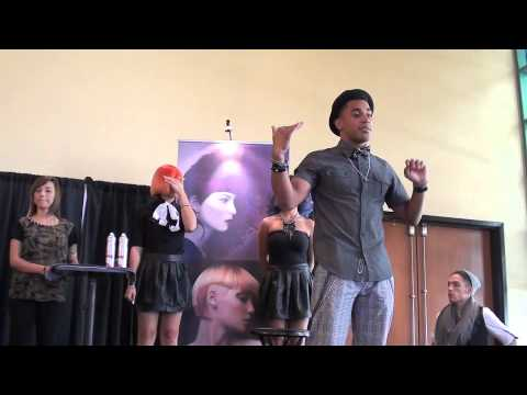 Editorial Hairstyling; Brenton Lee Hair Class