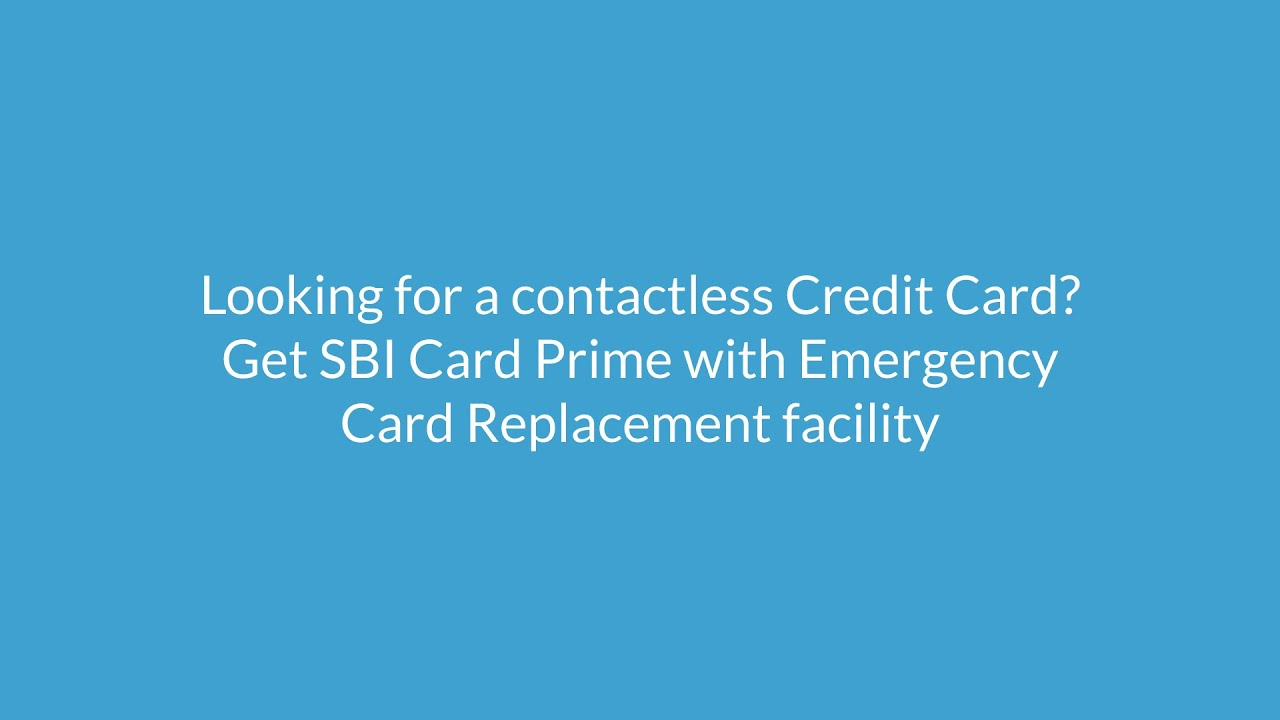 SBI Card Prime : Apply Online - Benefits,Features,Fees & Charges