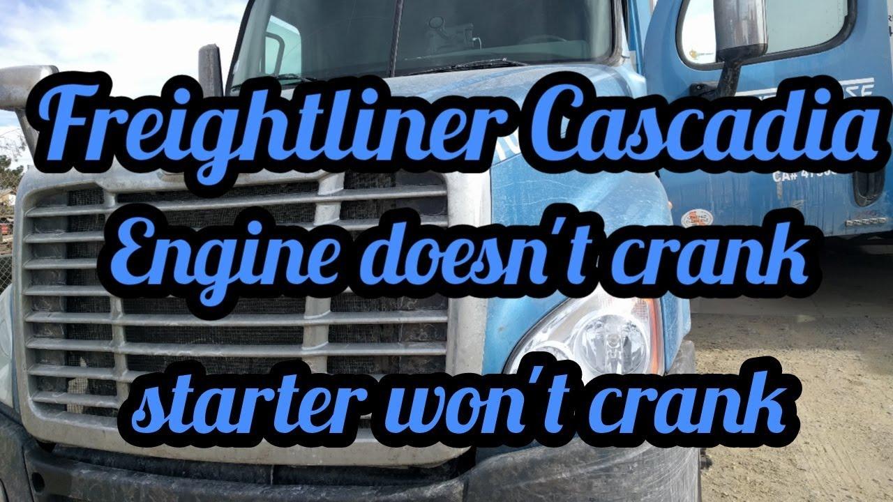 Freightliner Cascadia DD15 engine won't start not start clutch switch  replacement