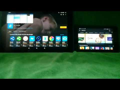 Best way to transfer Kindle Fire data