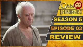 GAME OF THRONES SEASON 5 EPISODE 3 HIGH SPARROW - DER HOHE SPATZ REVIEW DEUTSCH / GERMAN