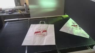 видео печать на пакетах шелкография