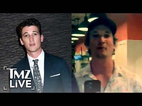 Miles Teller Fumes After Being Punched In Face at Maui Restaurant | TMZ Live