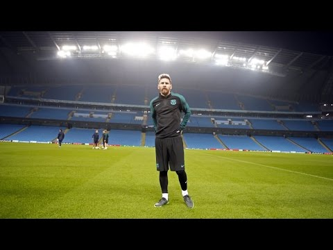 Experience a Champions League trip with Leo Messi