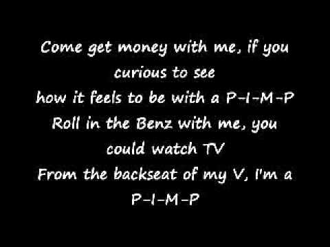 50 Cent  PIMP Lyrics