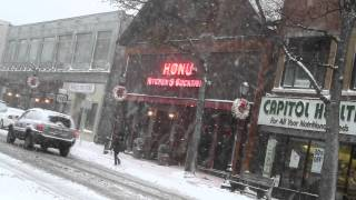 Snow Day - Huntington Village, NY