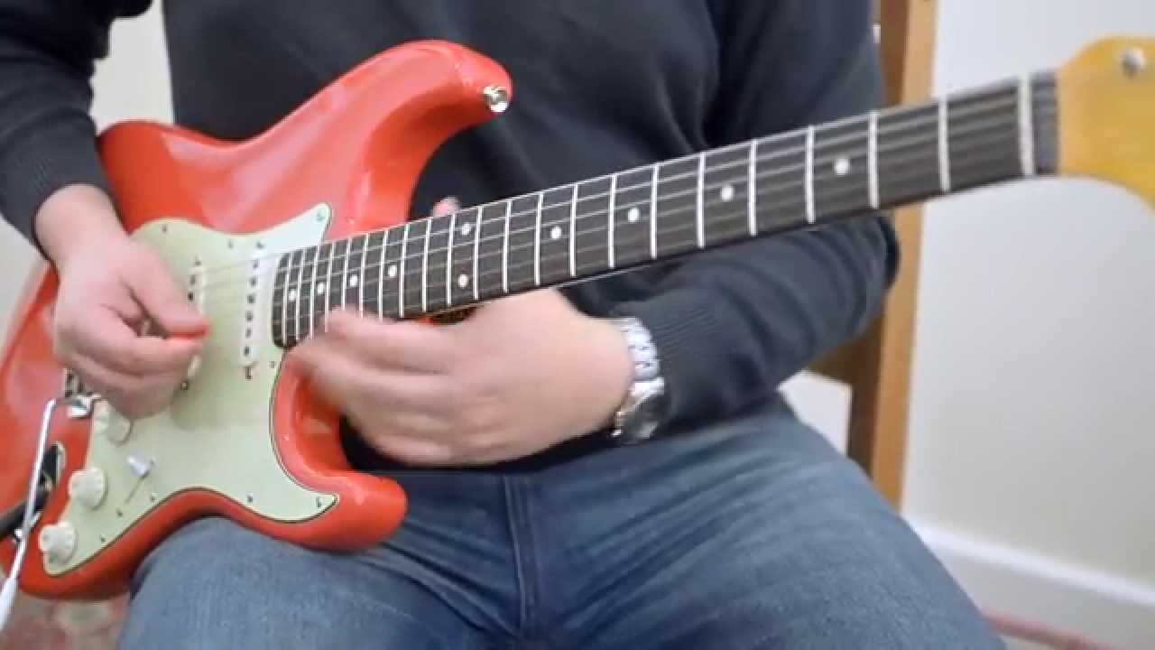 Fender Stratocaster CIJ Crafted in Japan in Fiesta Red
