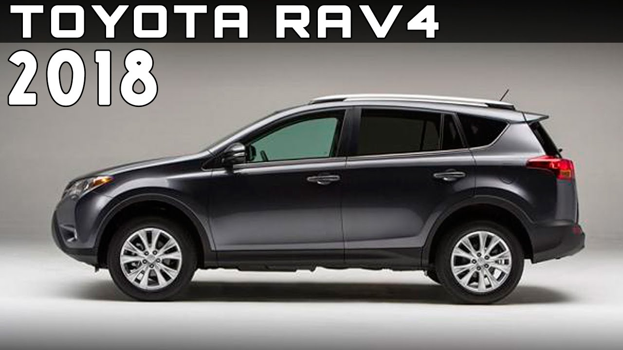 2018 toyota rav4 review rendered price specs release date youtube. Black Bedroom Furniture Sets. Home Design Ideas